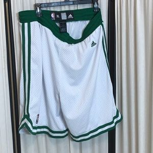 Adidas NBA Men's XL Basketball Shorts Celtics